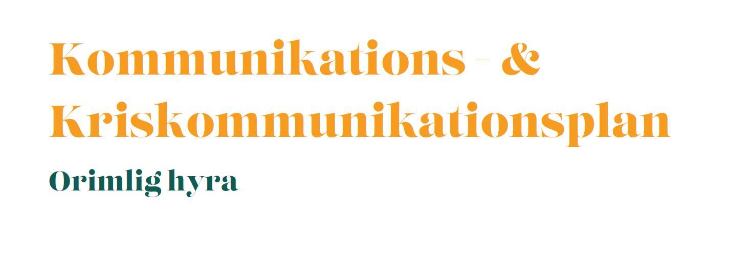 utdrag från kommunikation